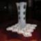 Szatinált váza 1