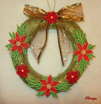Karácsonyi koszorú