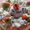 Karfiolos pulykatokány gombás rizzsel