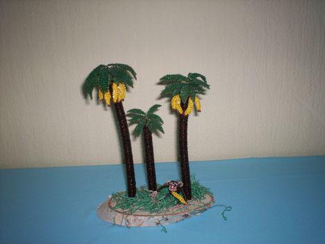 Banán fák.