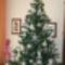 Horgolt karácsonyi diszek