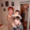 Kereszt lányom fia és a mi kis Levente unokánk