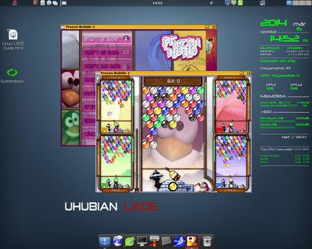 Uhubian Linux lx32 1.0 RC1