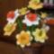 nárciszok kosárban
