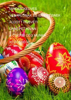 Áldott Húsvéti Ünnepet