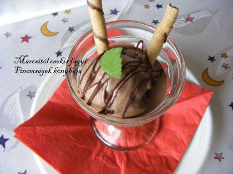 Csokis fagyi