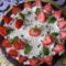 Citromhabos torta eperrel
