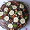 Csokis-mogyorós palacsinta torta