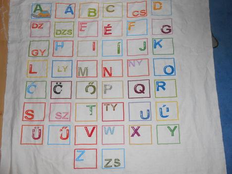 árnyék nélküll az összes betű