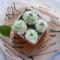 Kókuszkrémes kocka sütés nélkül