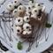 Sütés nélküli Kókuszkrémes kocka
