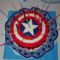 Amerika kapitány torta