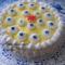 Tejszínhabos vanília  krémes torta