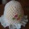 virágos kalap