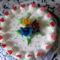 Névnapi Epres -mascarponés torta