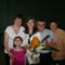 Berni ballagásán a család
