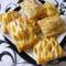 Camembert sajtos  szezámos párna