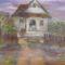 Magányos ház lila színekben-001