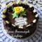 Mogyorókrémes szülinapi torta