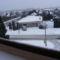 Téli kép az erkélyről