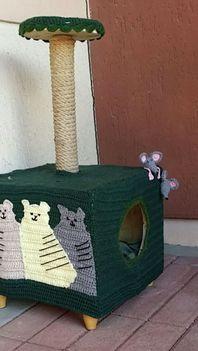 saját 1 macskaház