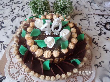 Születésnapi narancs torta