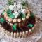 Születésnapi narancsos torta