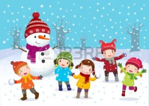 48703617-illustration-of-kids-playing-outdoors-in-winter