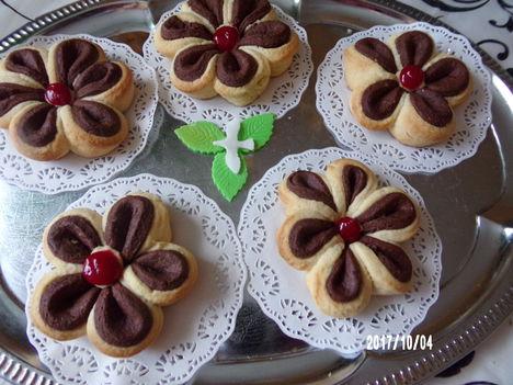 Csokis vaníliás kerék
