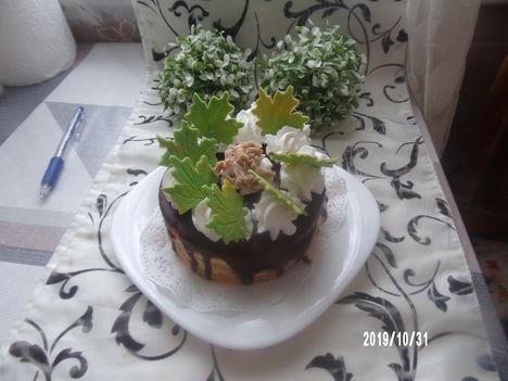 Mini gesztenyés torta