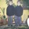 Az ikrek 7 évessek. Robi,és Bence.