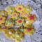 Kókuszos virágos linzer