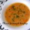 Köménymagos rongy leves