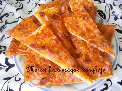 Pizza  szeletek