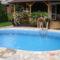 onokák a bazénon