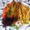 Sült tonhal burgonyával