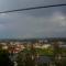Városnézés: erkélyünkről: 1.