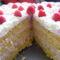 Málna torta