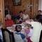 A mamával,Esztivel ,Gáborral és a dédivel