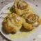 Aranygaluska muffin formában sütve