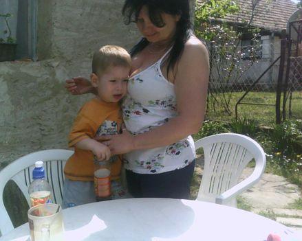 Mama és unokája!!