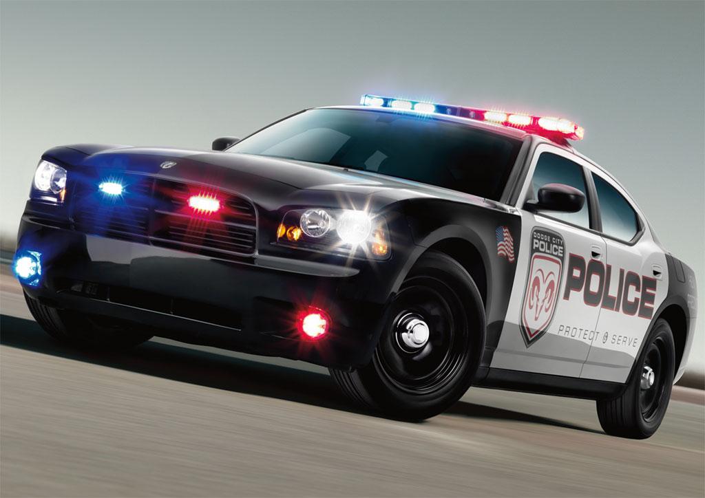 2009 Dodge Charger police car (kép)