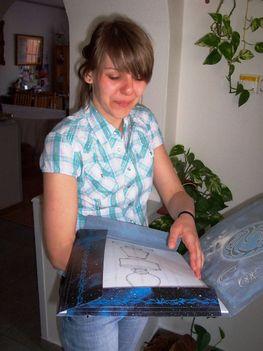 Mariann képzőművész albumával