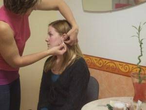 fül akupunktúra