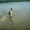 Tyson első úszása