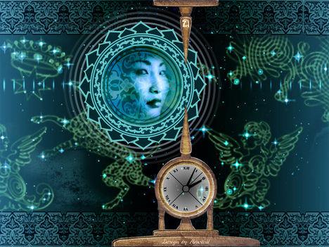 moon-mandala-clock