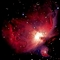 Egy csillag által megvilágított gázfelhő