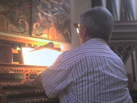Orgonánál Tiszaújvárosban,2008.