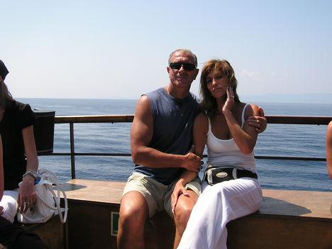 2007. Feleségemmela hajón