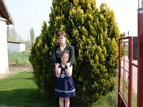 én és a lányom